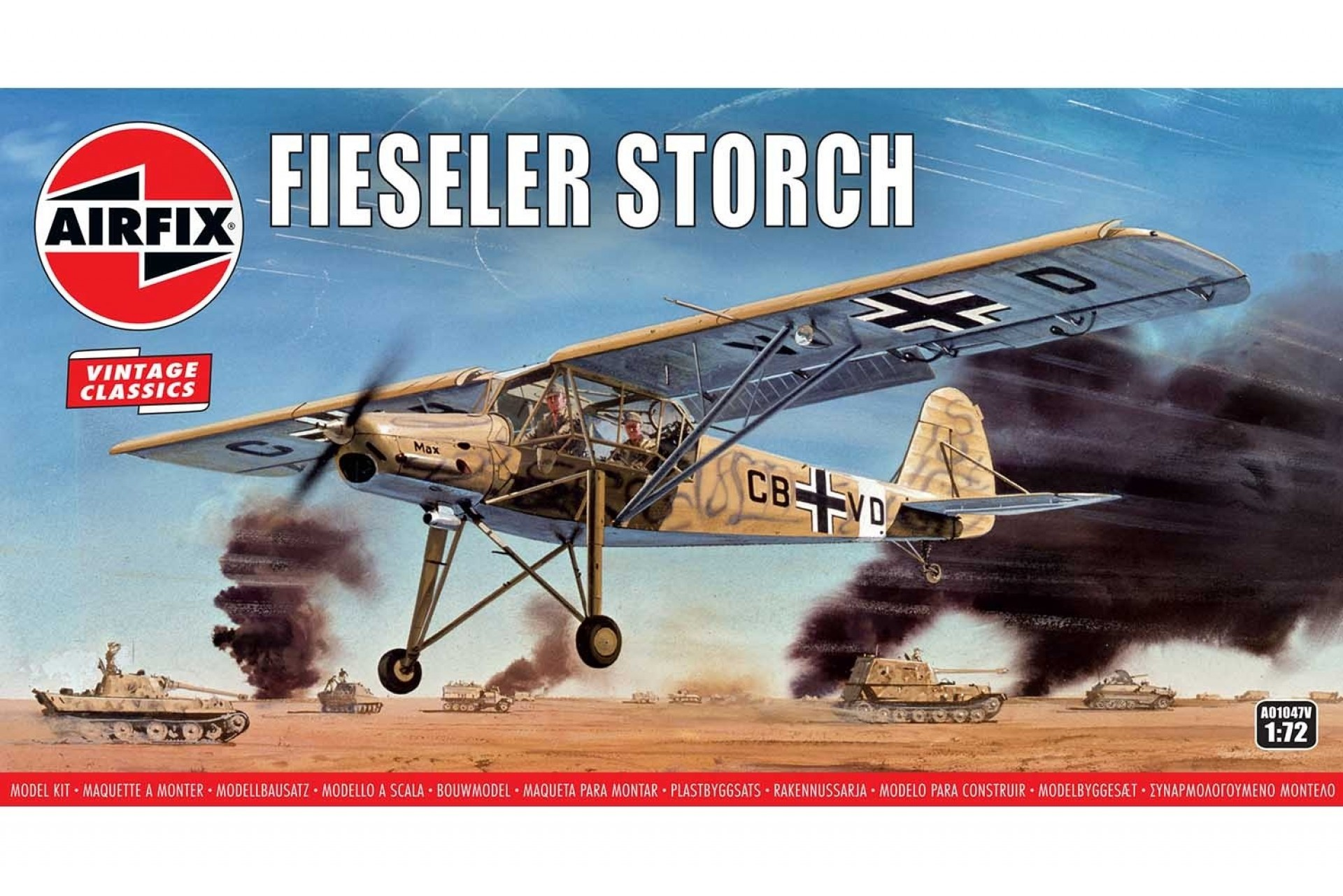 Fiesler Storch 1:72 Airfix Model